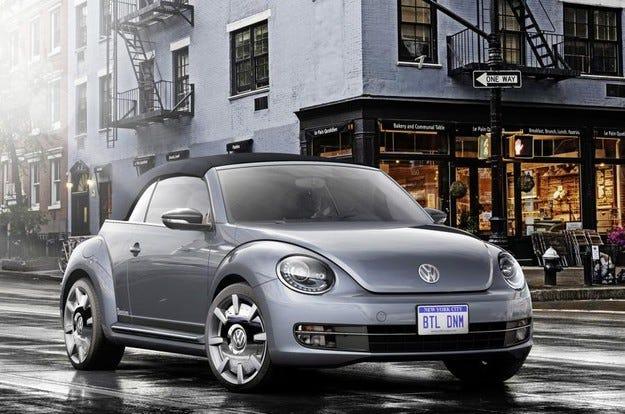 Volkswagen разкри четири концепции на базата на Beetle