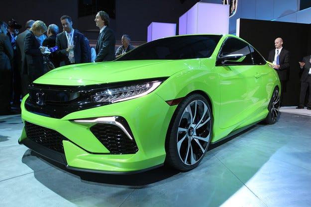 Honda представи предшественик на новия Civic