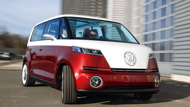 Volkswagen Camper става електрически автомобил