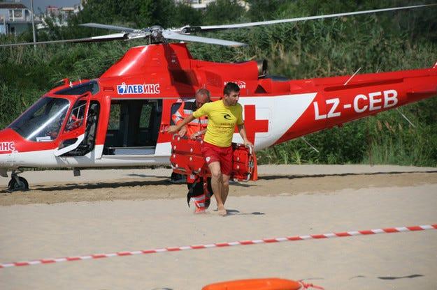 Хеликоптерът на Активна грижа излетя към Черноморието