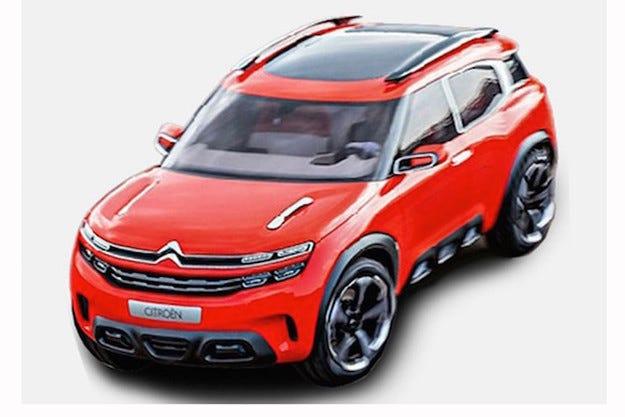 Снимки на концепта Citroën Aircross изтекоха в интернет