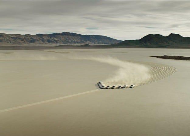 Hyundai Motor Company направи уникална връзка с Космоса
