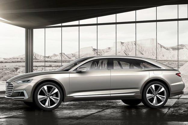 Audi демонстрира офроуд версия на концепта Prologue