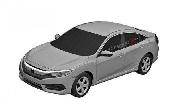 Разсекретиха дизайна на новото поколение Honda Civic