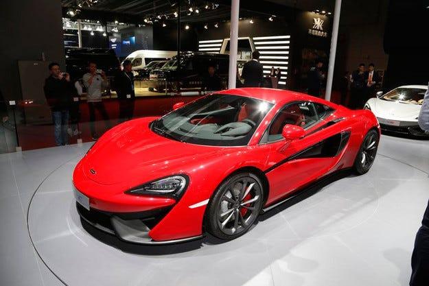 Най-евтиният McLaren излиза на пазара през 2016 г.