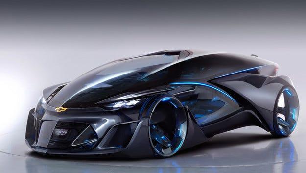 Chevrolet показа в Шанхай безпилотен електромобил