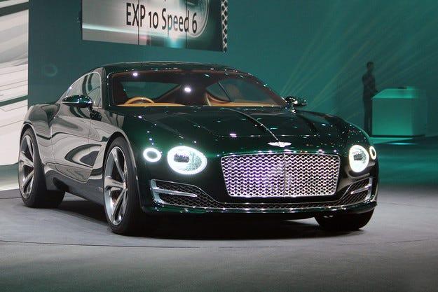 Bentley няма да променя дизайна на новото купе