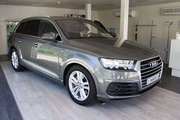Audi Q7 дебютира предпремиерно в България