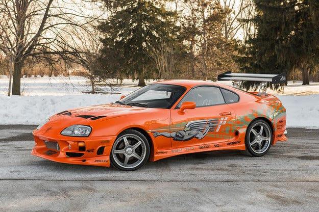 """Обявиха Toyota Supra от """"Бързи и яростни"""" на търг"""