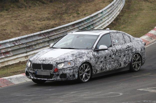 Новият седан BMW Серия 1 атакува CLA и A3