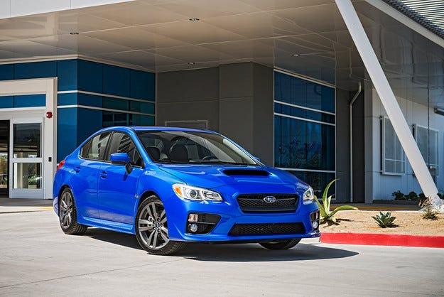 Японският Subaru обнови моделите WRX и WRX STI