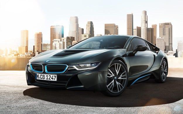 Технологиите в автомобила на бъдещето BMW i8