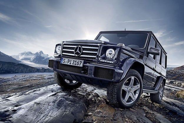 Mercedes G-класа за 2015 г. с по-голяма мощност