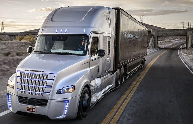 В САЩ разрешиха камиони с автопилот по пътищата