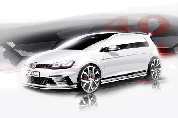 Разкриват радикален концепт на Volkswagen Golf GTI