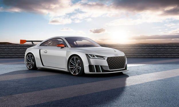 От хечбека Audi TT направиха спортист с 600 к.с.