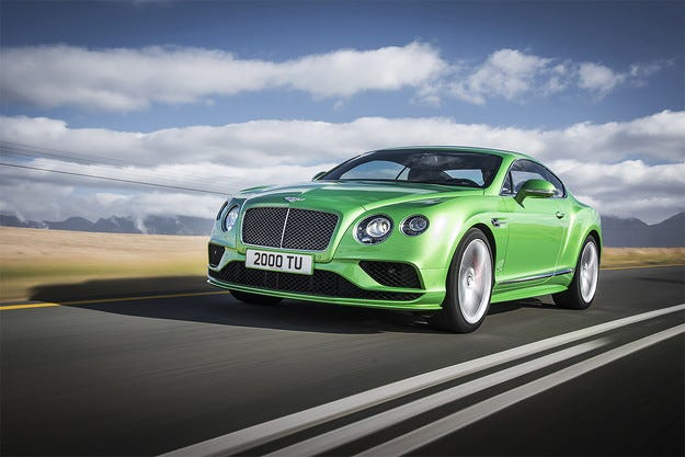 Очакваме нов Bentley Continental GT през 2017 г.