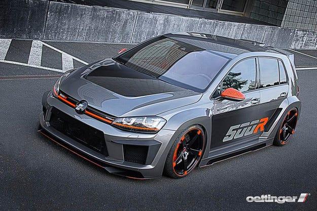 Volkswagen Golf получи двигател с 518 конски сили