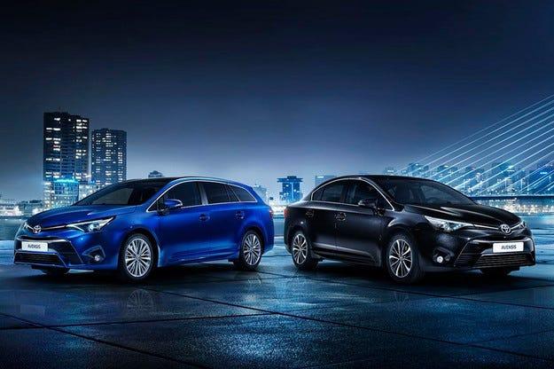 Toyota представи двигателната гама на новия Avensis