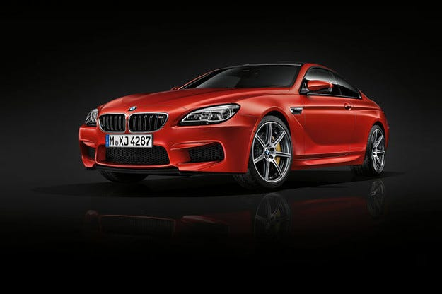 Пакет Competition за BMW M6: 600 к.с. за V8 битурбо