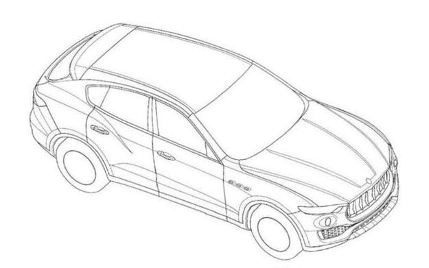 Показват първите изображения на кросоувъра Maserati Levante