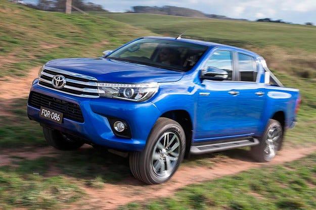 Toyota представи новото поколение на пикапа Hilux