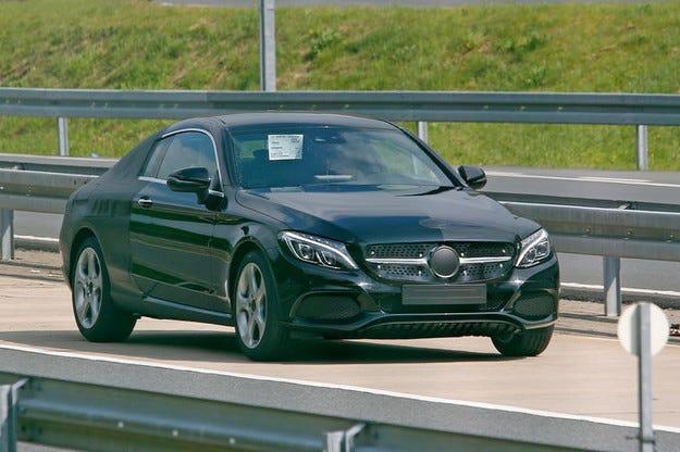 Mercedes C-класа Coupé празнува премиера на IAA