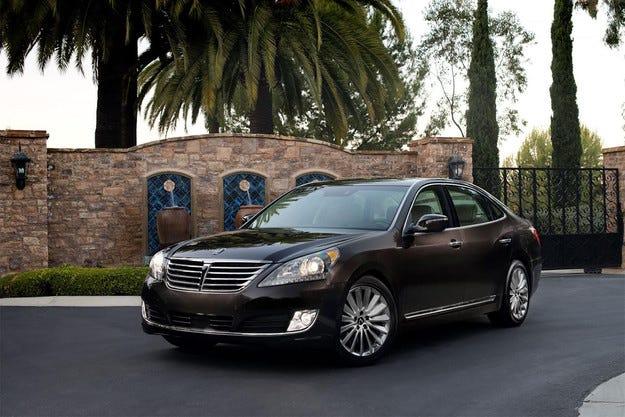 Hyundai разсекретени рестилизирания седан Equus