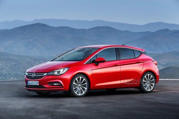 Преди дебюта му във Франкфурт новият Opel Astra е разкрит