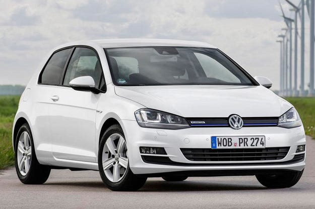 Volkswagen Golf получи най-икономичния двигател