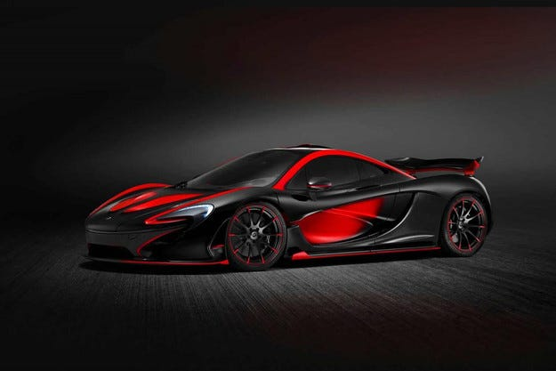Хибридът McLaren P1 ще има ексклузивна версия