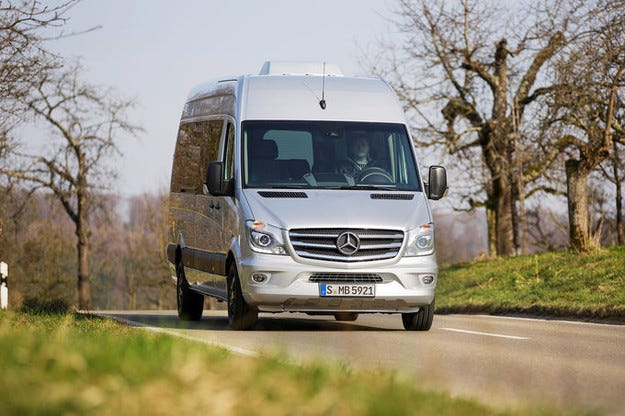 Mercedes Edition Sprinter: По случай 20-годишния юбилей