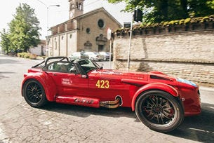 Donkervoort D8 GTO Mille Miglia: Атлет всеки ден