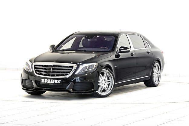 Brabus Mercedes-Maybach: 900 к.с. за луксозния лайнер