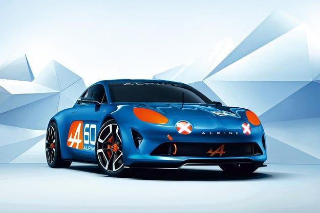 Renault представи концепцията Alpine Celebration