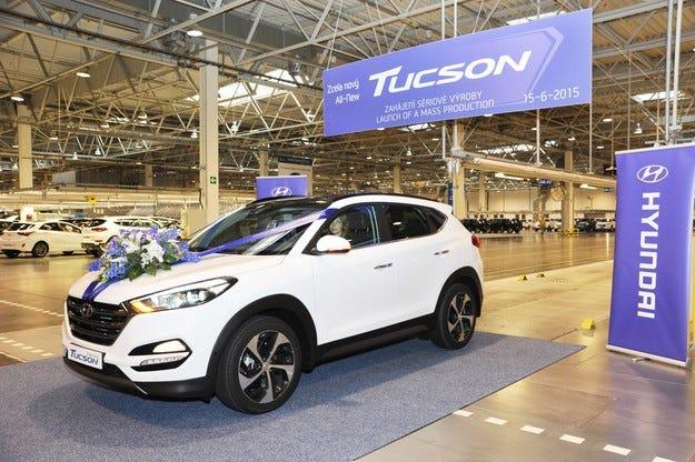 Стартира производството на новия Hyundai Tucson