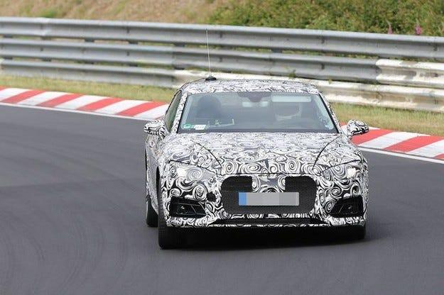 Прототипът Audi A5 (2016): Новото купе е в обектива