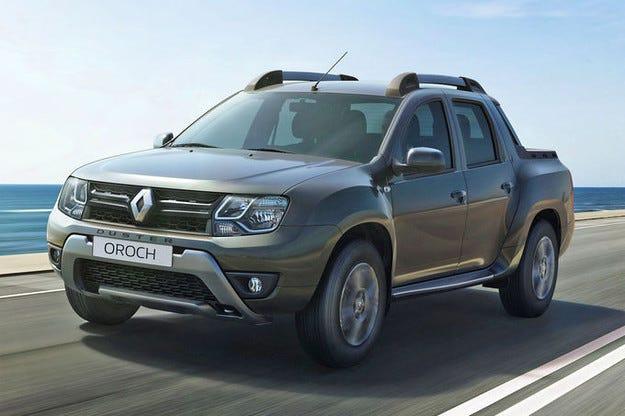 Пикапът Renault Duster Oroch: Като магаре със самар
