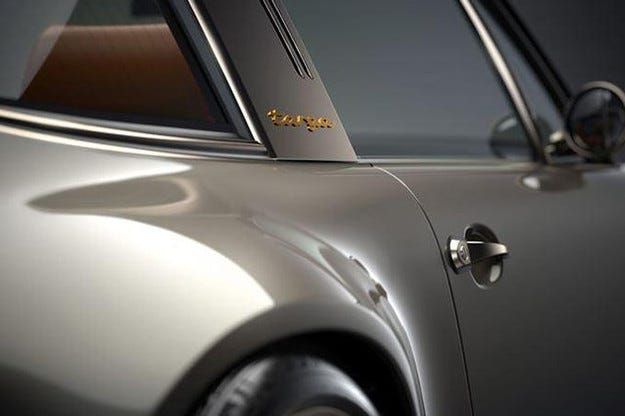 Porsche 911 Targa на Singer: Ретро изпълнение за Гудууд