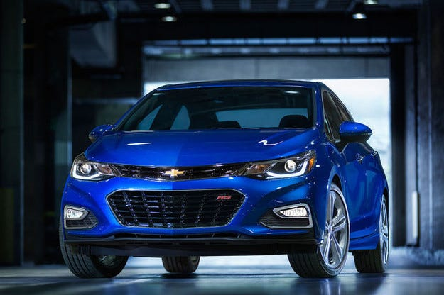 Chevrolet Cruze 2016: Opel Astra по американски