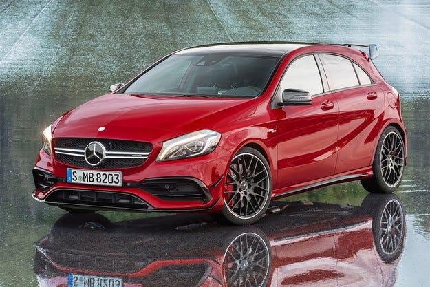Mercedes-Benz показа най-мощния хечбек в света