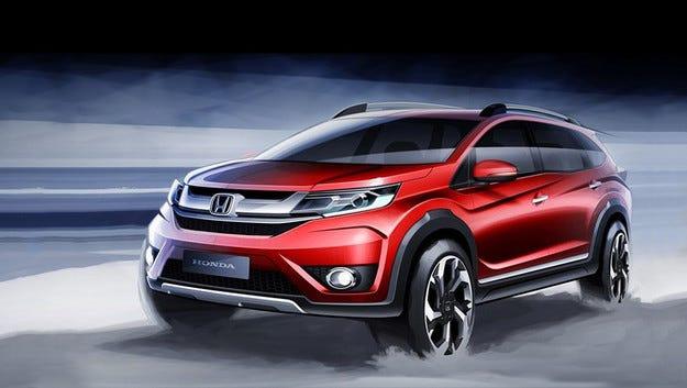 Honda представя нов седемместен кросоувър през август