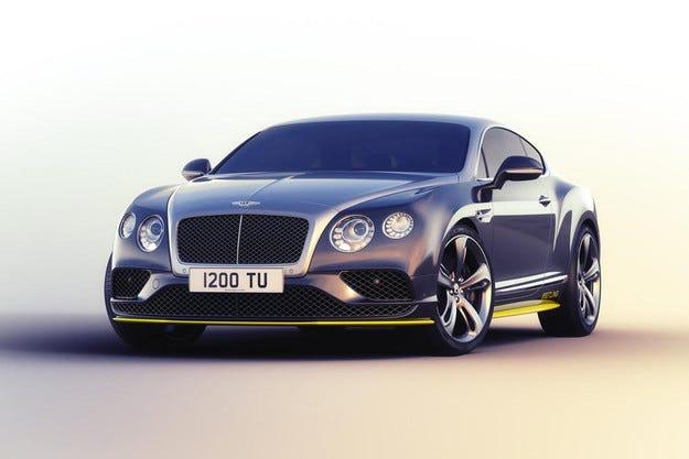 Компанията Bentley показа най-бързото си купе