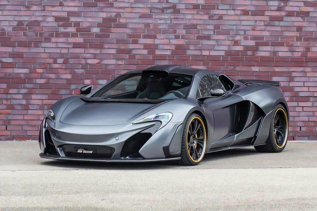 Добавиха мощност на спортния автомобил McLaren 650S