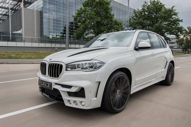 ART Tuning xHawk5: BMW X5 с много мащабна визия