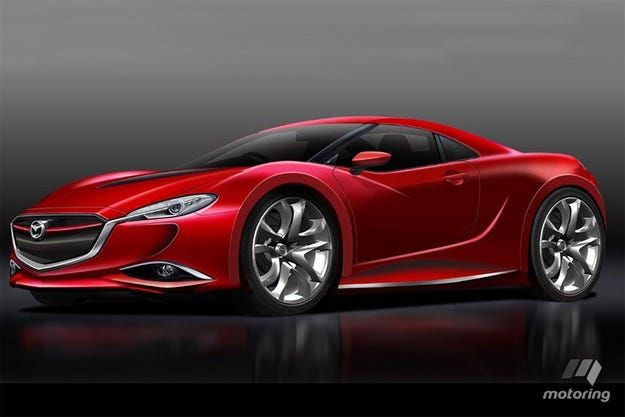 Mazda ще представи ново купе с роторен двигател през 2017 г.