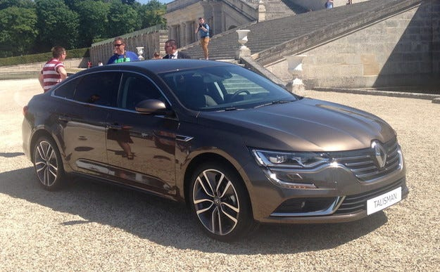 Renault представи новия флагмански седан Talisman