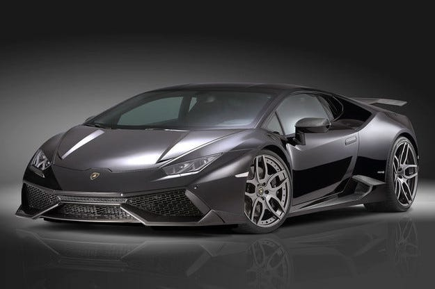 Впечатляващ облик на Torado Lamborghini Huracan
