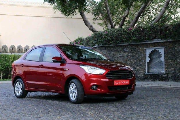 В Индия представиха седан на основата на хечбека Ford Fiesta