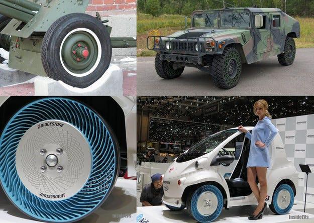 Hankook тества високоскоростни безвъздушни гуми